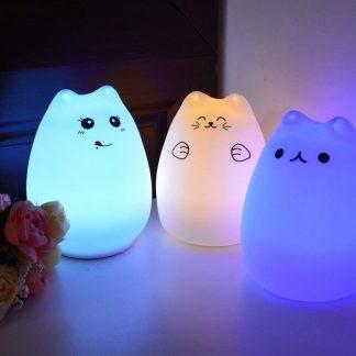 children's cat LED Night Lamp