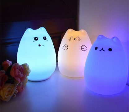 children's cat LED Night Lamp